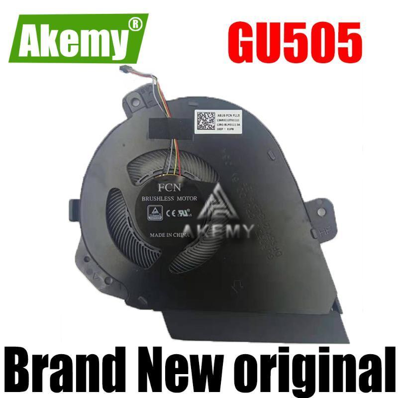 neue Laptop original CPU-Lüfter für Asus ROG GU505D GU505 GU505DU DC5V 0.5A 4PIN 13N1-8LM0111 13NB0JS0T01011