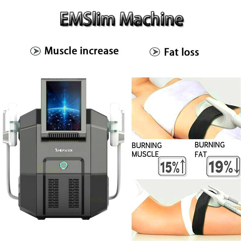 Oi-Emt Emslim beleza máquina rápida Forma Slimming Body High Intensity Focused eletromagnética Tesla Sculpt Celulite Remoção Clinic Dispositivo