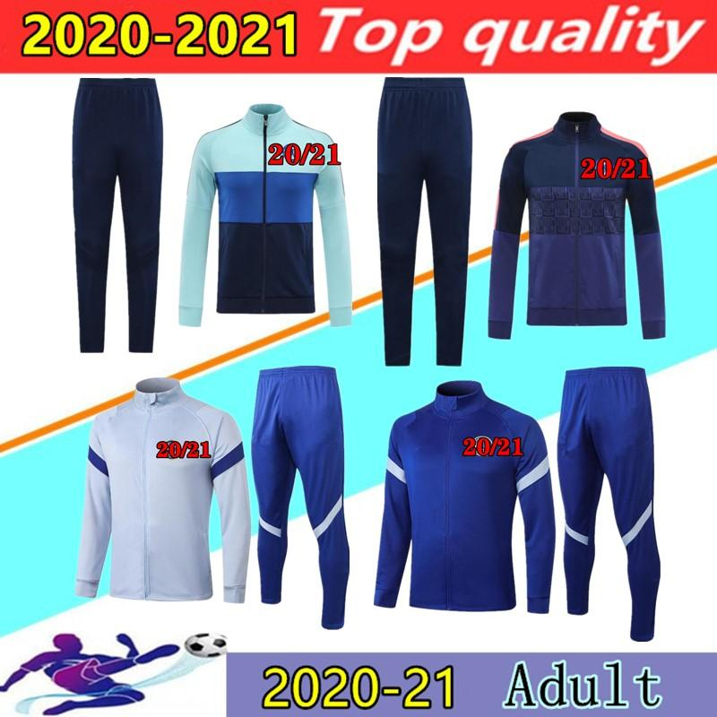 20 21 ABRAHAM WERNER HAVERTZ soccer jacket tracksuit 2020 2021 ZIYECH PULISIC KANTE CHILWELL shirt training suit football jackets jogging