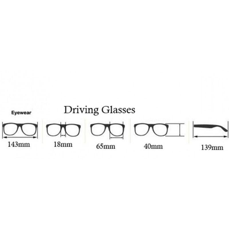 Männer polarisierten Sonnenbrille fährt Nachtsichtbrille Goggles reduzieren Glare R9JE