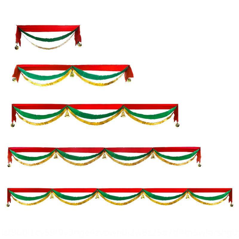 Noël vague suspendu tirant l'activité d'ouverture décoration plafond magasin de centre commercial hôtel décoration ruban traction drapeau Couleur Couleur Drapeau Fl