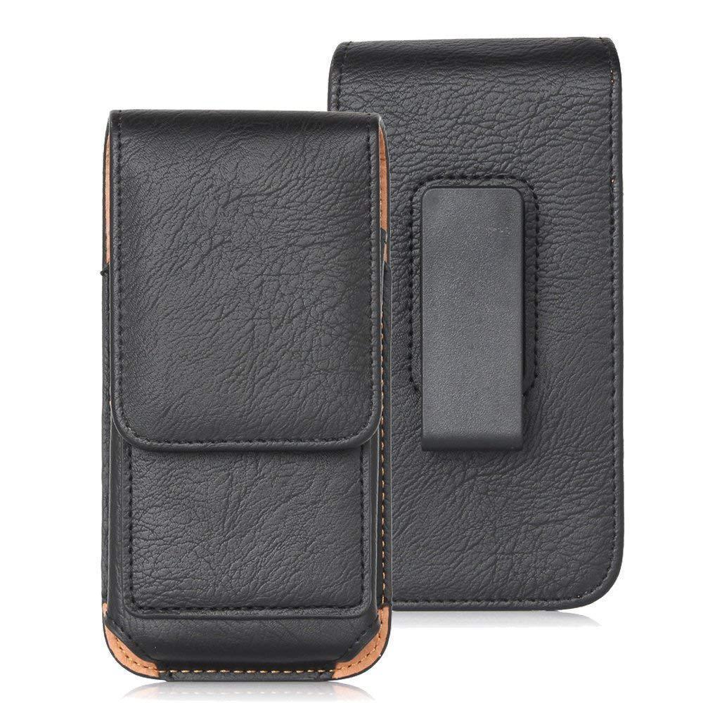 pochette verticale poche carte de crédit universel sac cas de téléphone portable pour iPhone 11 pro 7 8 xs xr cas de Samsung portant la couverture de taille