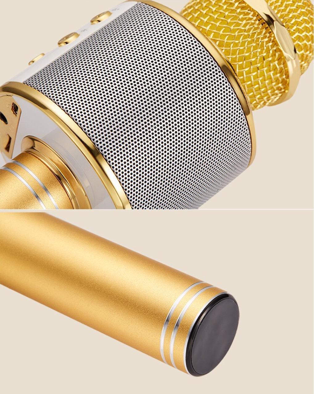 WS858 wireless USB microphones professionals condensers karaokes mic bluetooth stand radio mikrofon studio recording studio WS858