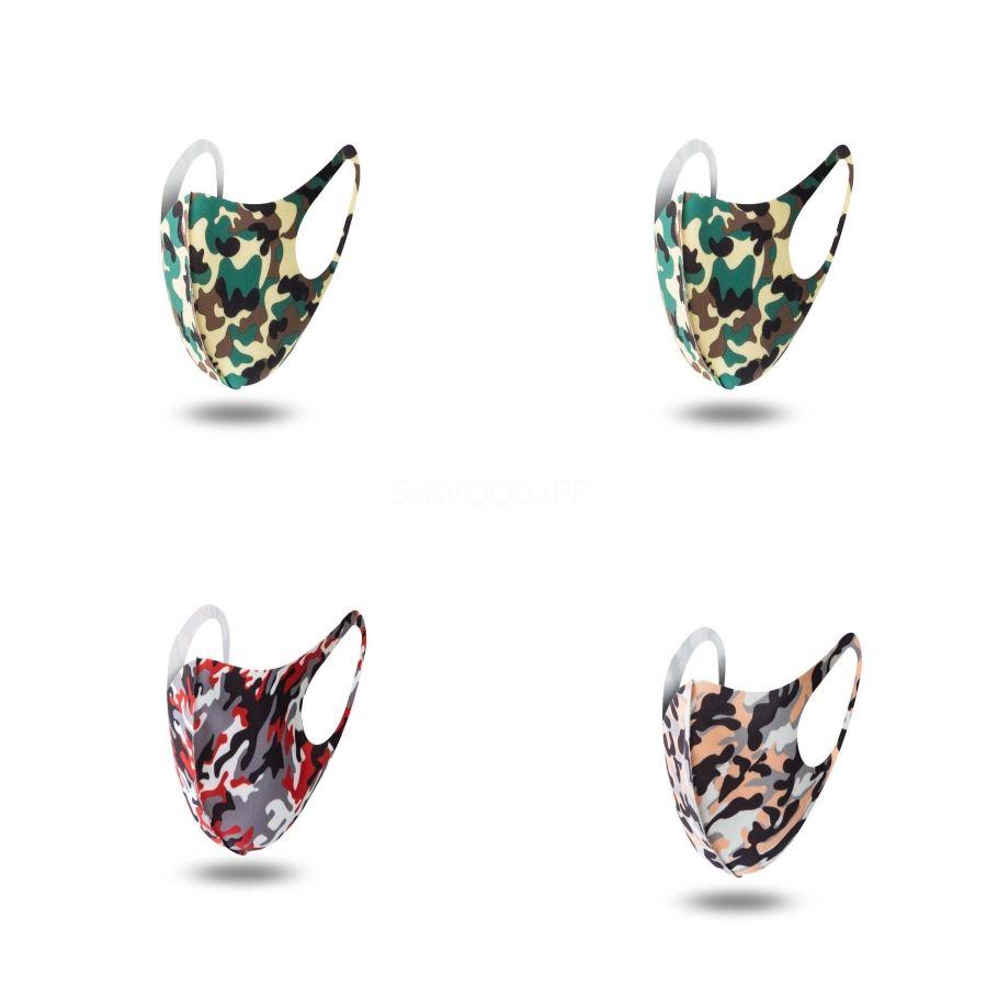 Fa máscara máscaras Fasion Fa Árvore Impressão Camada Prection Wit Melt-Blown Adulto População Máscara # 419