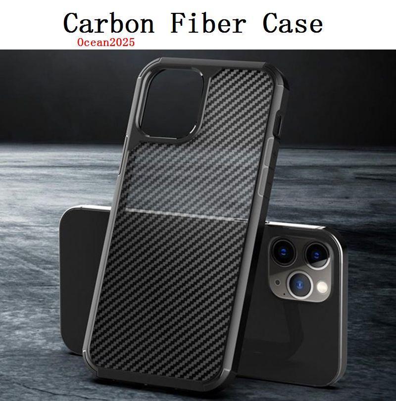 Для NEW 2020 iPhone 12 Матовый Phone Case 12 Pro противоударный Carbon Fiber Защитная задняя крышка