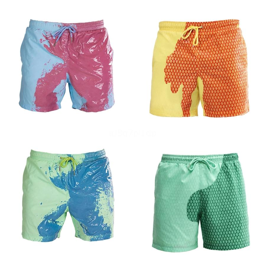 Swimwear homens de Moda de Nova Slim Fit Oversized na moda Quick-seco Boxer Swim Shorts Praia Trunks Maillot de bain 2.020 # G # 561