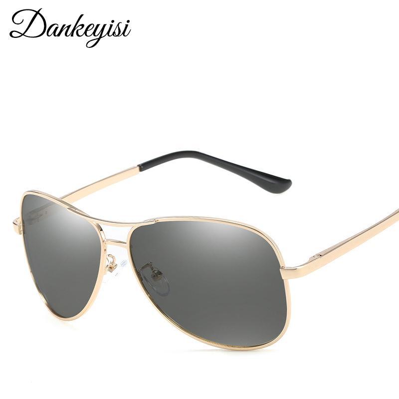 2020 piloto polarizado ao ar livre homens piloto homens vintage óculos de sol dirigindo dankeyisi esporte foto fotocromática macho sol óculos de sol fiijx