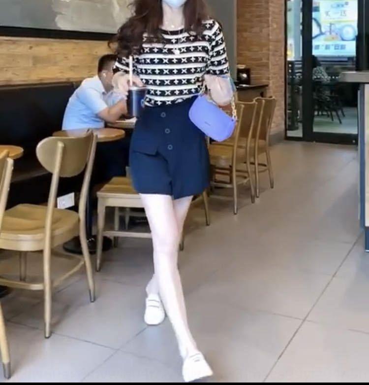 Güçlü 172 yeni Kore tarzı moda hepsi maç üst Zayıflama pantolon iki parçalı 2020 Yaz yeni kadın En Coatfashion Vb3kD Vb3kD set etek