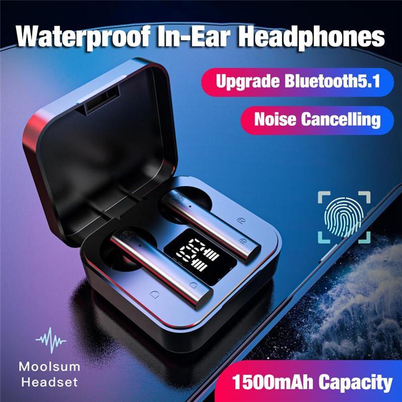 TWS 블루투스 5.0 이어폰 소음 차단 폰 헤드셋과 마이크 핸즈프리 무선 이어폰에 대한 샤오 미 AIR2 SE Airdots 2