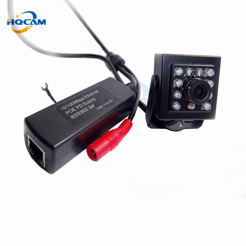 HQCAM 1080P IR-Cut Smallest Night Vision 2.0MP Mini Ip Camera Covert Network Onvif 940nm IR IP POE Miniature Camera Network