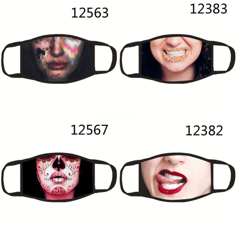 Magia E Maschera Sun-resistente sciarpa bandiera americana Stampa maschere per il viso Er Outdoor Ciclismo Sciarpe multifunzione Bandana # 244 # 486 # 500 # 670