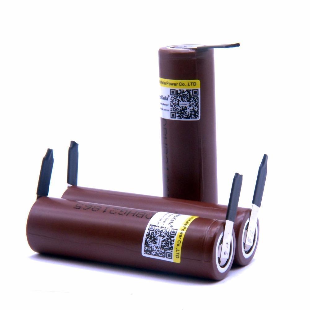 Las baterías recargables 2019 NUEVO LiitoKala 18650 3000 mAh 3.6V 30A de descarga de la batería dedicada bricolaje Nicke