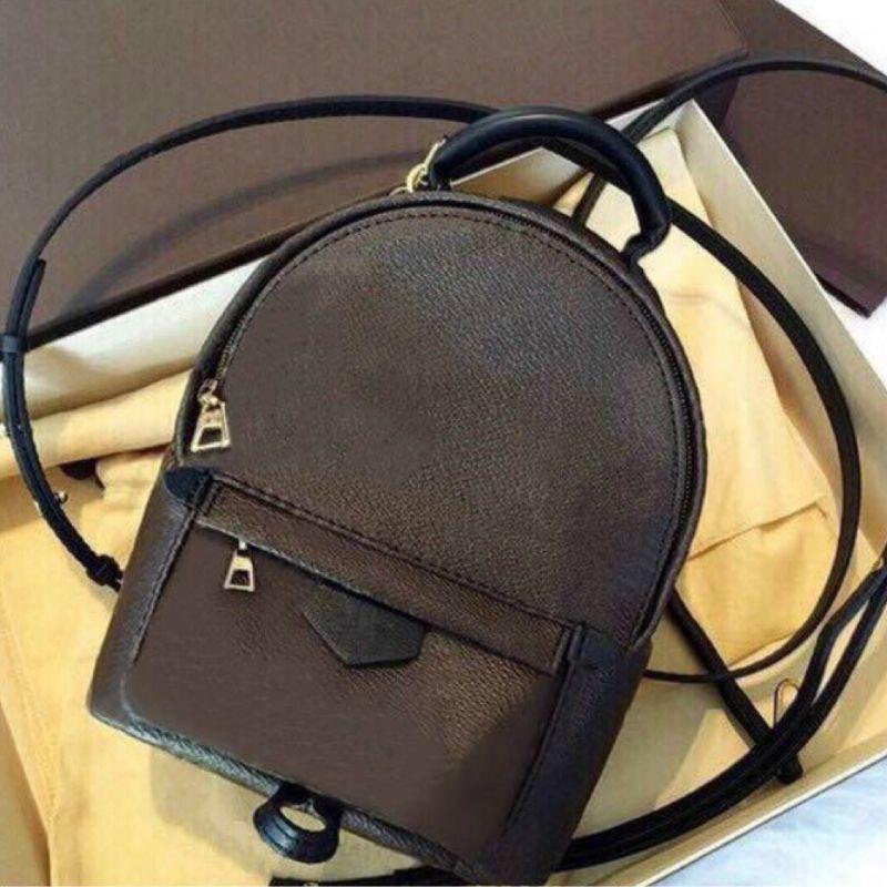 Designer di marca all'ingrosso Nuove donne Palm Springs Mini Zaino Backpacks Bambini Zaini Donne Stampa Uomo Stampa in pelle PU Mini Borse scolastiche 11p2