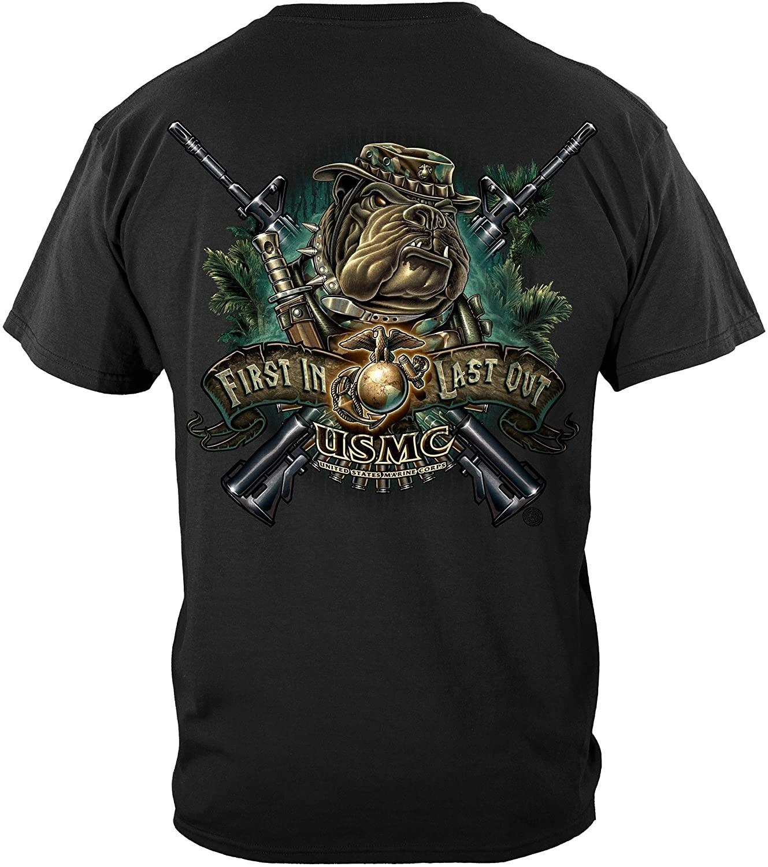 Erazor Bits Marine Corps T-shirt Usmc Birthday Shirt 2013 T-shirt Mm149