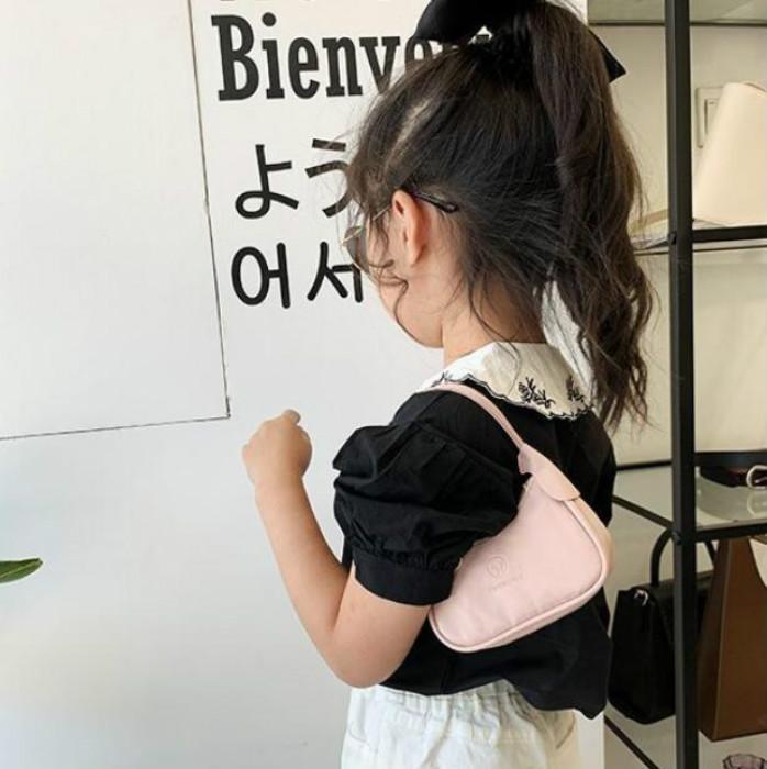 2020 Lolita Stil Mini Bebek Çanta Moda Sevimli Çocuk Çanta Kız Prenses Küçük Bir Omuz Çantaları