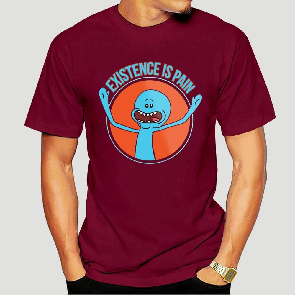 Ri und Morty Herr Meeseeks Existenz ist Schmerz Bla T-Shirt s Wos Unisex Verschiffen frei Harajuku s T-Shirt Fashion Classic-1189A