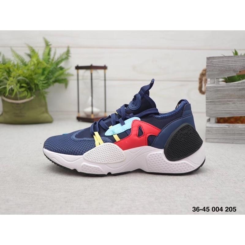 Esecuzione E.D.G.E Uomini QS TXT Scarpe Huaraches 7 Huarache VII 7s BORDO Triple nero bianco Athletic Sport Sneakers
