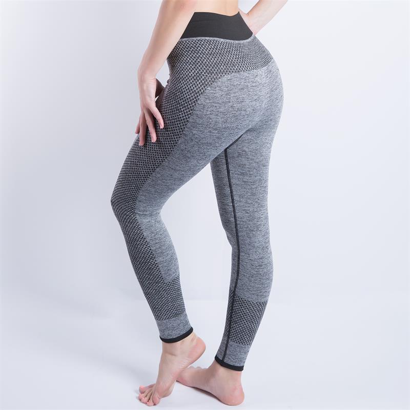 populares de mulheres calças do desgaste emenda Yoga Sports Correndo calças Ginásio Leggings