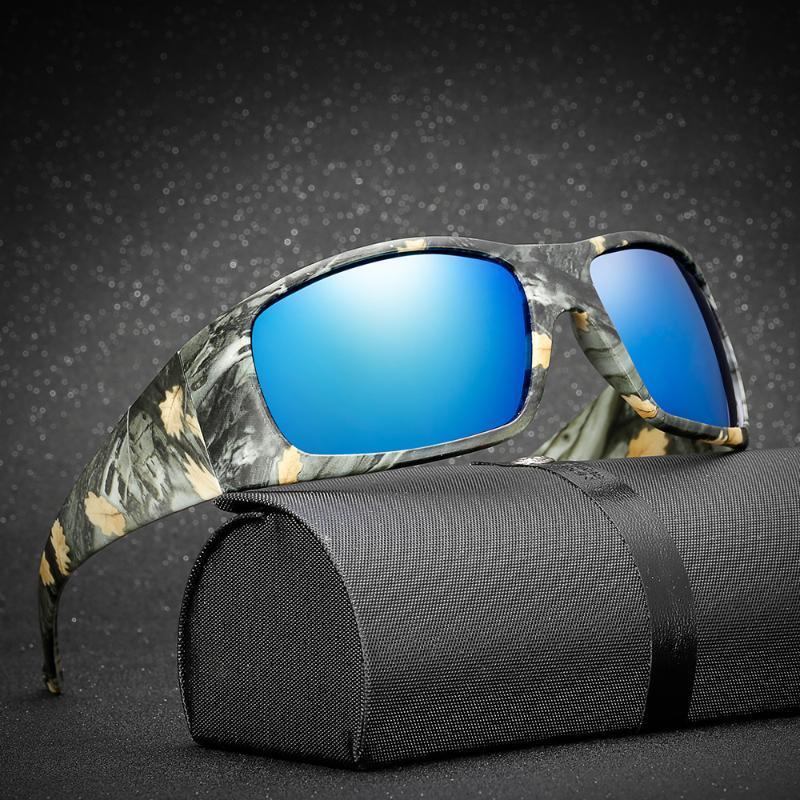 Camouflage sports glasses, fishing polarized sunglasses, polarized glasses