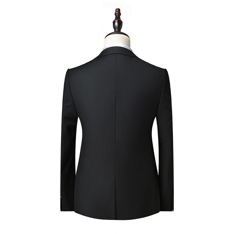 2020 New Black Men Veste de costume d'automne de soirée de mariage veste pour hommes et manteau rouge foncé gris bleu vin Costume Blazer