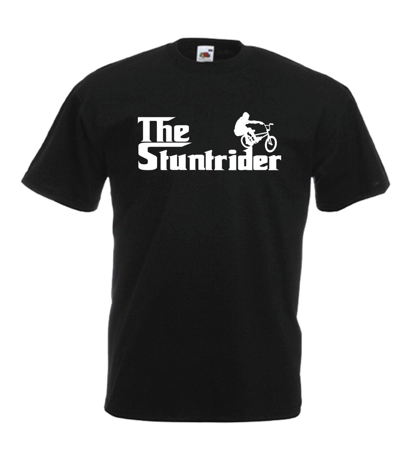 Dublör Rider Bmx Bisiklet Komik Noel Doğum Hediye Fikir T Shirt 2019 Man'S Tasarımcı Yepyeni Kısa Kol Pamuk T Shirt Baskı