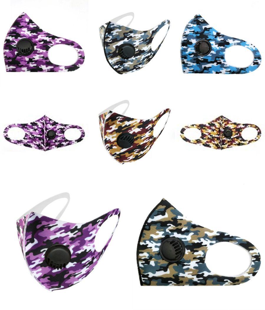Designer Printed Gesichtsmaske waschbare Gesichtsmaske Heiße Verkaufs-Adult-Eis-Silk Thin Mascherine Sonnenschutz Abschnitt staubdichte Smog schwarze Maske ## 412