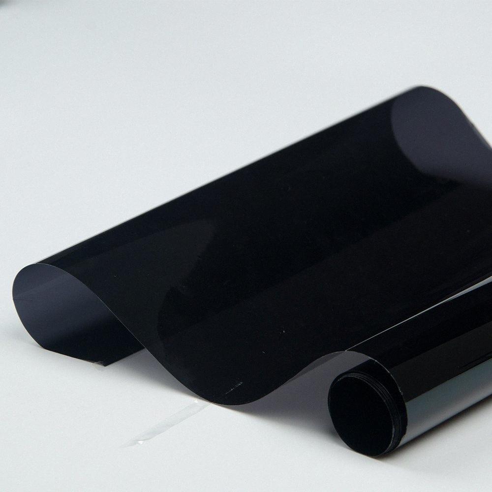 100% UV 152 * 300см Пленка для тонирования стекол Glass Главная Коммерческая автомобиля Оттенок пленка бокового окна 5% VLT yXnD #