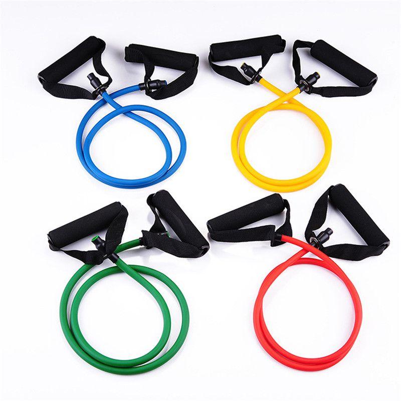 YHSBUY 2020 Elastik Direnç Gruplar Yoga Çekme Halat Spor Egzersiz Spor Grupları Yoga Lastik Çekme Bandı, 004