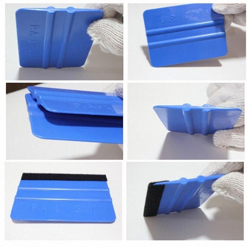 Keçe Silecek Vinil Araç Kaplama Aracı Karbon Elyaf Folyo Vinil Kazıyıcı Pencere Ton Araba Camı Temizleme Aracı AAeq #
