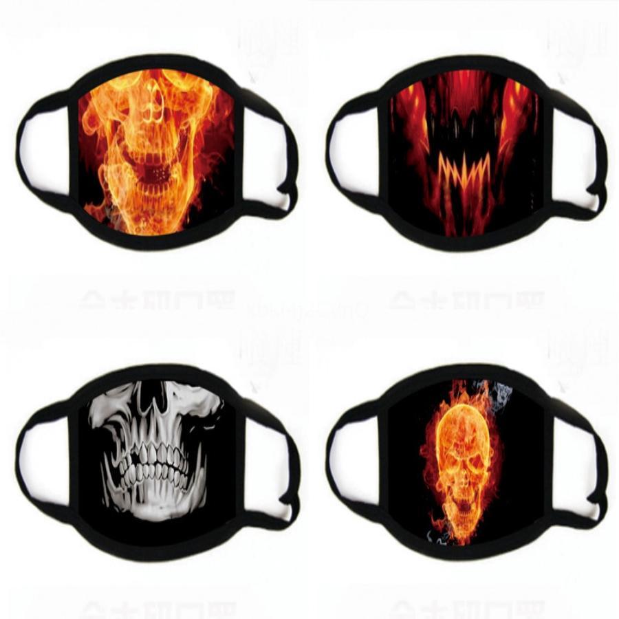 Wasale de protection Fa impression Masques Manque Desinger anti-poussière pollution Mout Coton Clot Masque Masques Fa Fasion impression FY9041 # 236