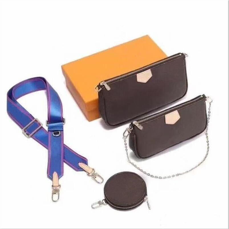 Le style original 2020 nouveau sac d'embrayage sac messager dames en cuir de haute qualité MULTI mode mini-trois-en-un épaule sacs de voyage boîte