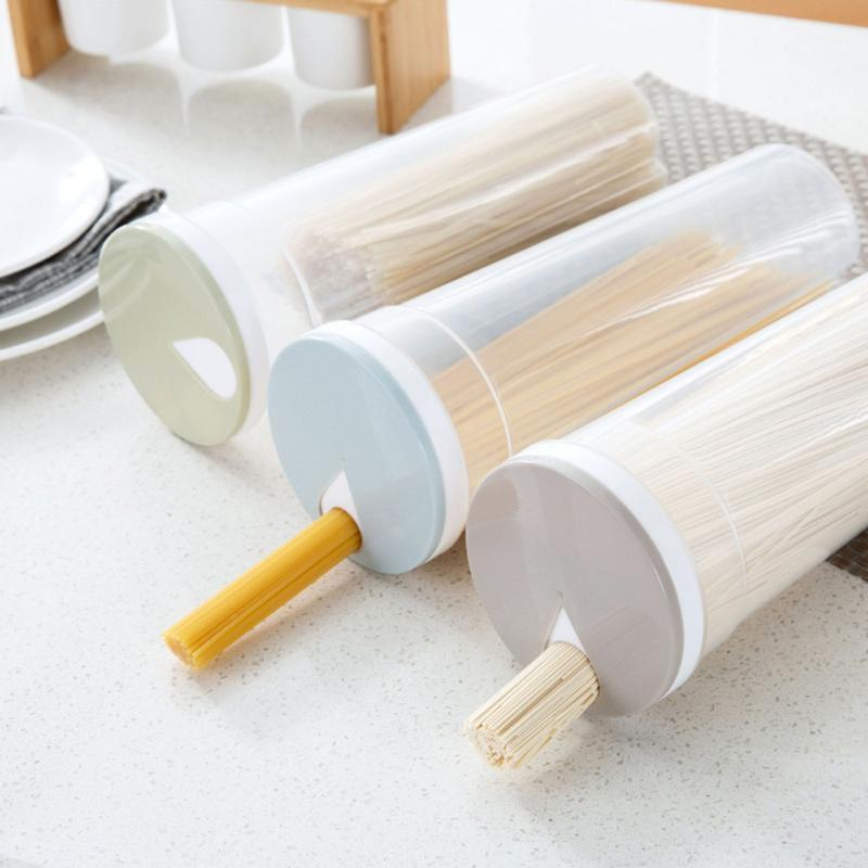 New Multifunction Spaghetti Box Cutlery Noodle Storage Box Chopsticks Boxes Hot Selling Canister For Kitchen Containers B1