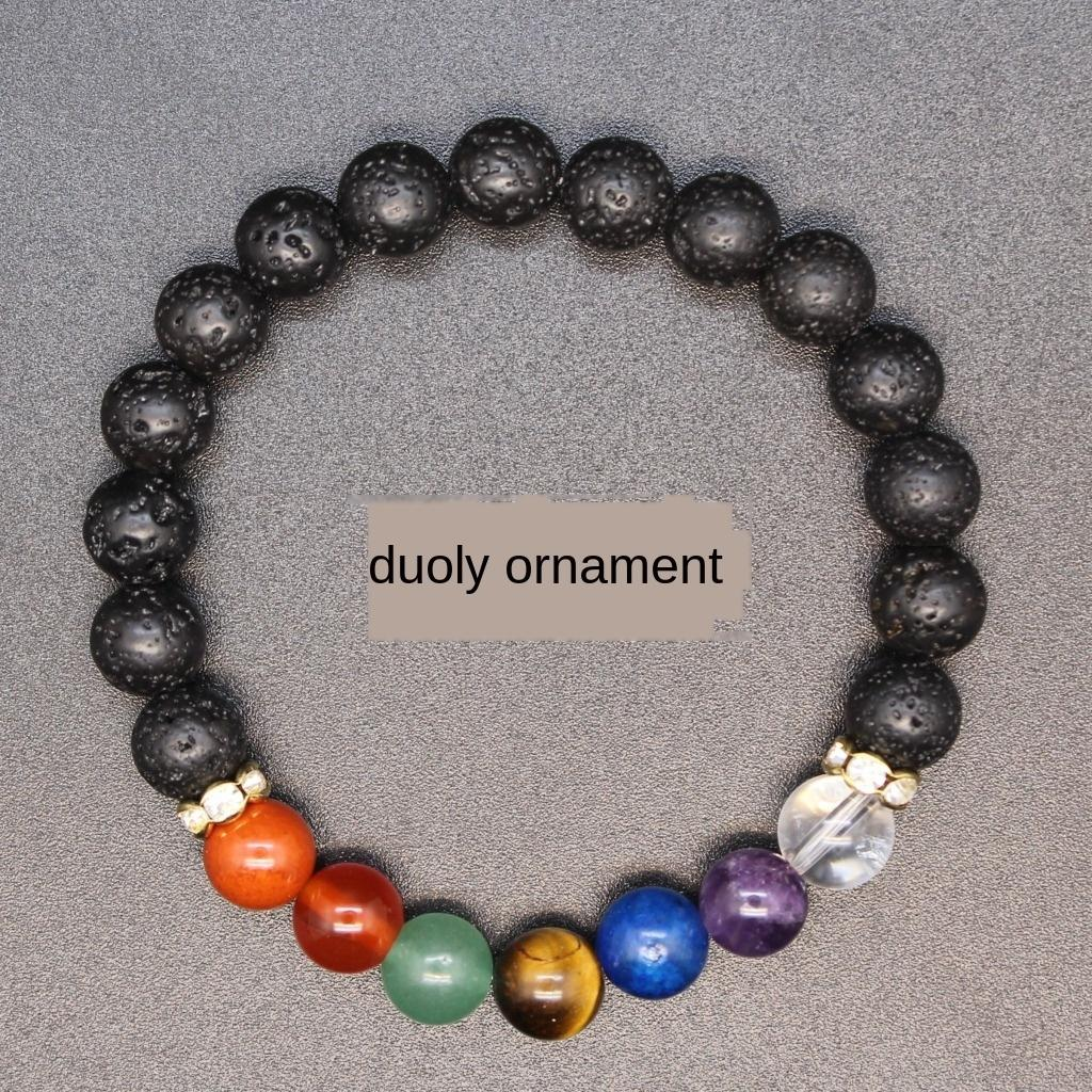 accesso BXoCD Origine pietra sette gioielli ruota fonica Yiwu piccole merce pietra Origine sette impulsi gioielli braccialetto ruota piccolo braccialetto di Yiwu