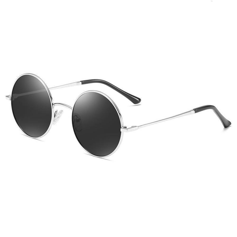 JASPEER New Vintage-Runde Luxus Retro Mann-Marken-Designer Punk Style Sonnenbrille Frauen Brillen 900I