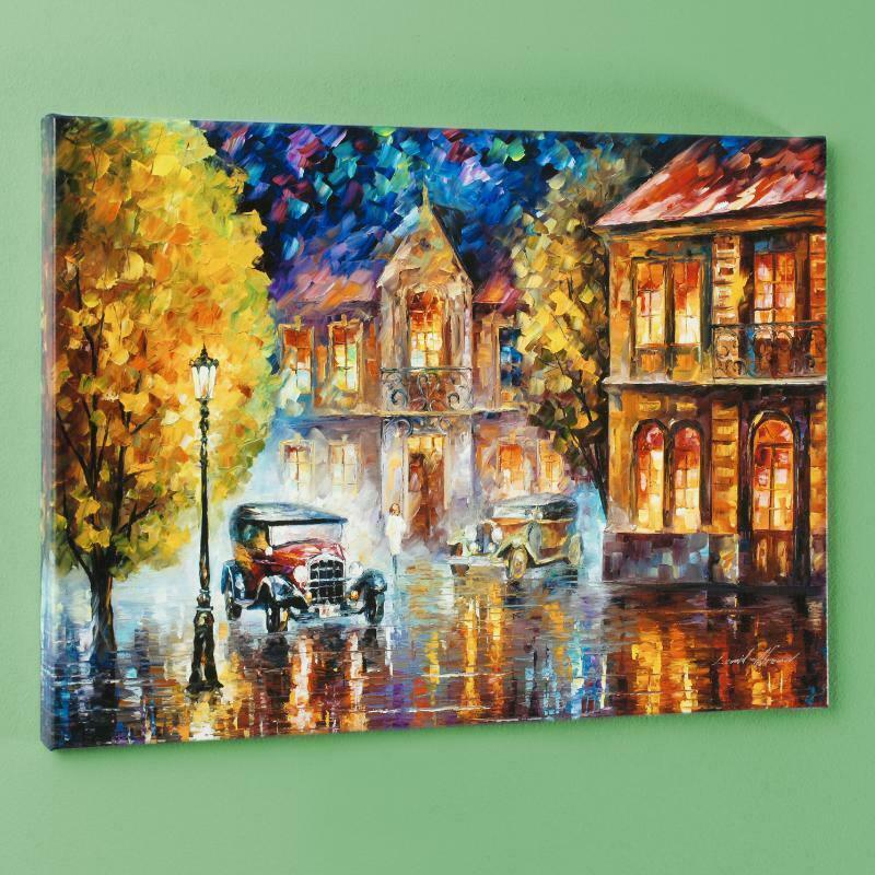 """Leonid Afremov """"Los Angeles 1930"""" Home Decoration Handpainted &HD Print Oil Painting On Canvas Wall Art Canvas Pictures Wall Decor 200919"""
