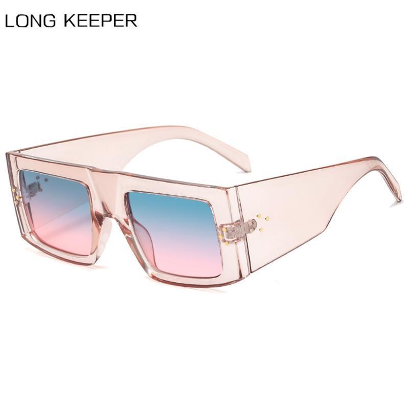 New Fashion Sunglasses Women Men 2020 Brand Design Oversized Square Sun Glasses Vintage Retro Shades Eyewear UV400 zonnebril