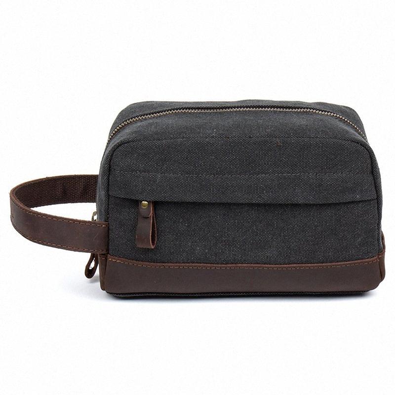 Erkekler Retro Seyahat Kozmetik Bag çanta Kadınlar Tuval organizatörü Yıkama makyaj Çanta Yüksek kapasiteli Taşınabilir Depolama Tuvalet Vaka 7nl3 #