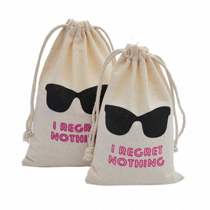 50шт я Сожаление Ничего Hangover Kit Сумки Свадебной подарки для гостей Держатель мешка Bachelorette девичник Supplies p4t8 #