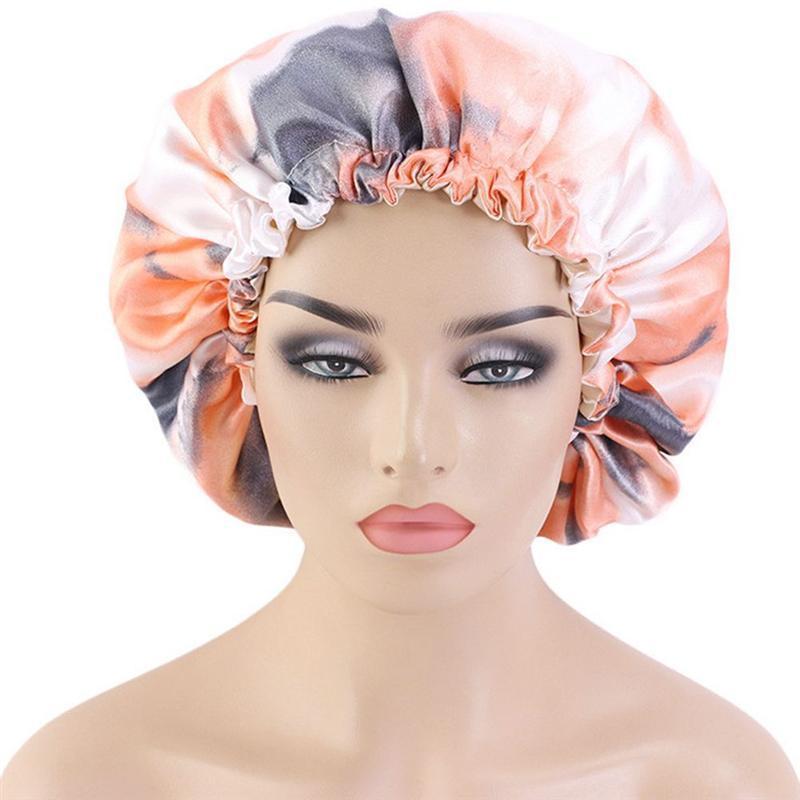 2adet Su geçirmez Banyosu Şapka Çift Katman Duş Saç Kapak Kadınlar Malzemeleri Cap Banyo Aksesuarları 200.923 Duş