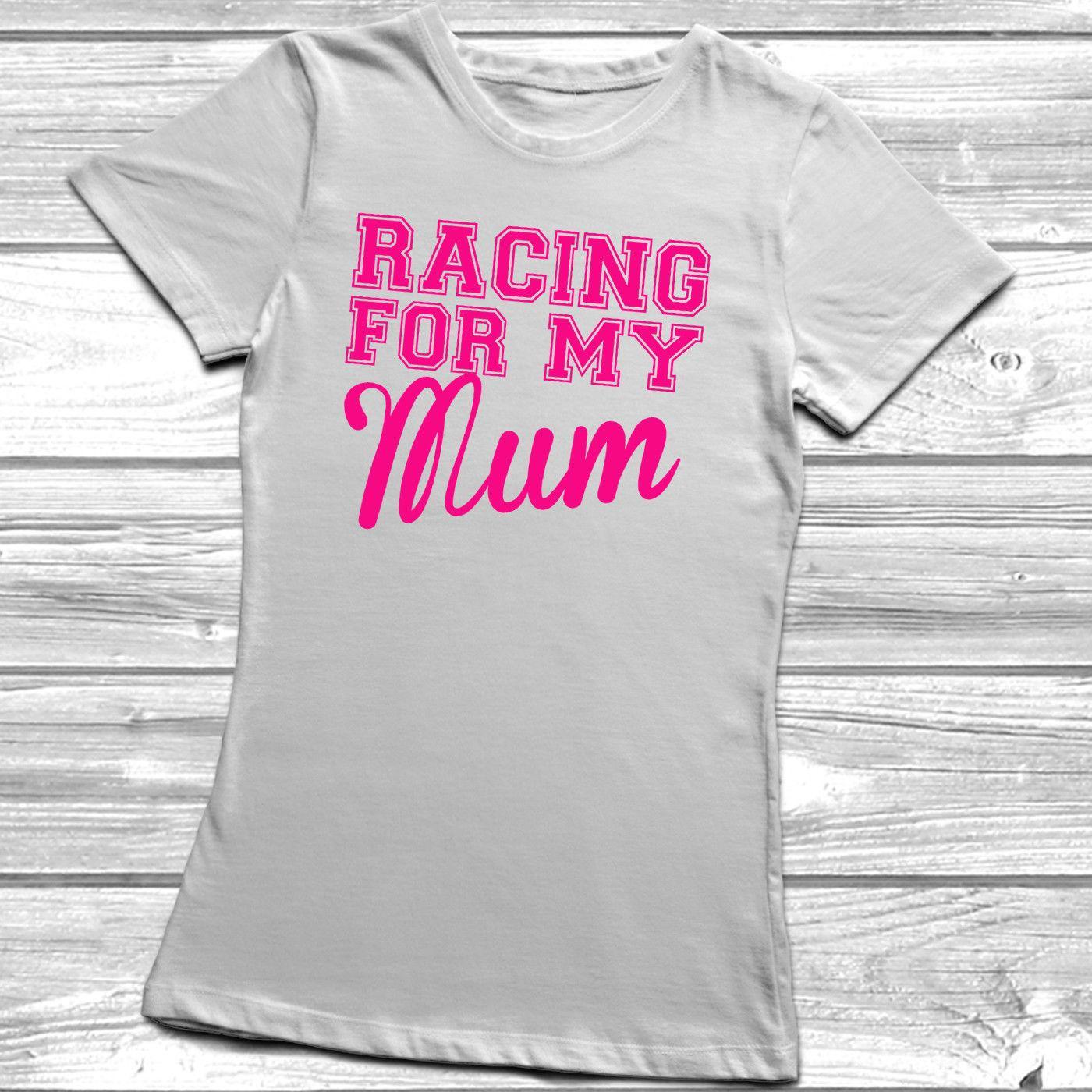 RACER für mein T-Shirt Rennen Leben Mama Tante Dad Onkel T Top Cancer CharityMen T-Shirts Sommer-Art-Mode Swag Männer