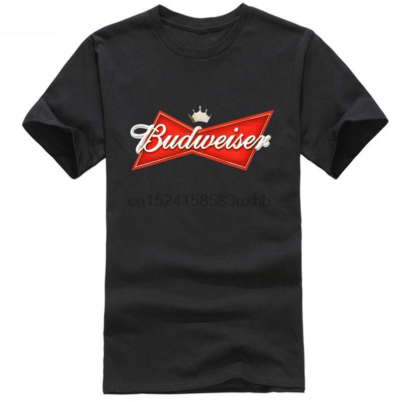 Nouveau Vêtements pour hommes T-shirt meilleure qualité Budweiser bière logo T-shirt décontracté LIVRAISON GRATUITE 1 commande