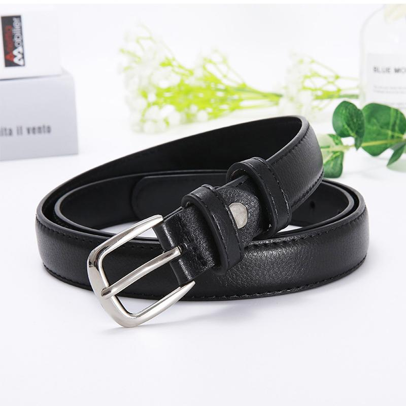 Black leather belt ladies jeans belts women 2020 waist cinturon mujer cowgirl western trousers waistband Cintos De Mujer riem