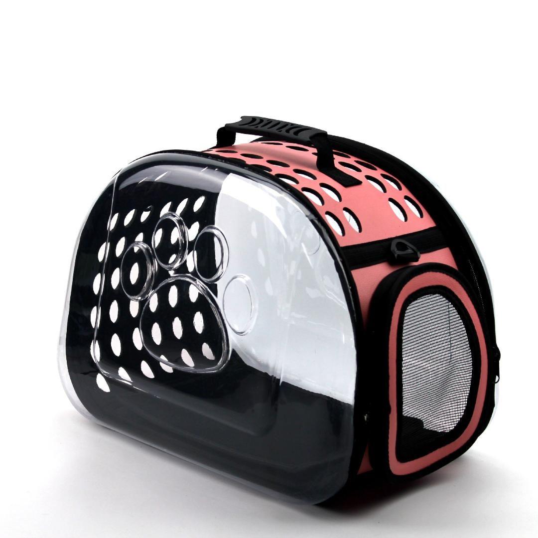 Dog Cat portátil portador saco transparente de transporte Cat mochila de viagem ao ar livre ombro pacote bolsa dobrável respirável Bag