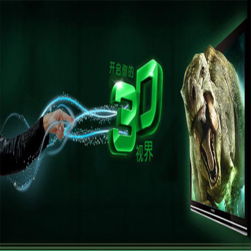 2020 Yeni 5pcs / set Boyut kırmızı ve mavi Stereo Rölyef Film Oyun Dvd ile Glasses 3d