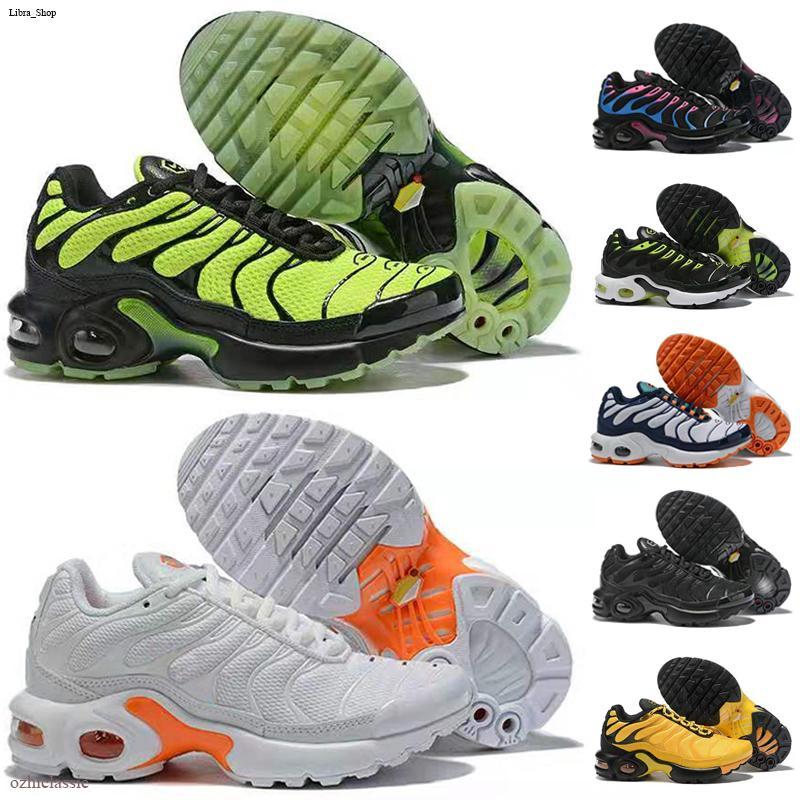 Nike Air Max TN Çocuklar 2020 Yeni tn ayakkabı çocuklar Ayakkabı Boy Kız Bebek Gençlik 2018 artı Eğitmen Yastık Yüzey Nefes Spor ayakkabı Koşu