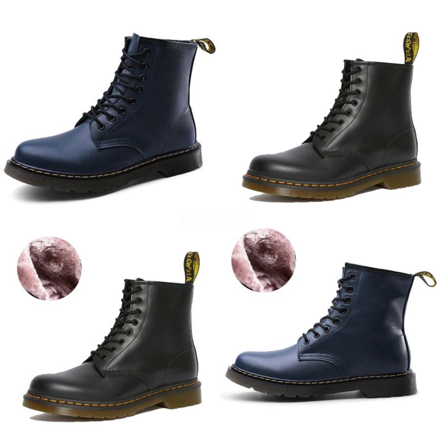 Talones mujeres libres de alta calidad de los zapatos de cuero Martin botines Martin Botas reales zapatos de moda otoño invierno moda Martin botas remache con # 492