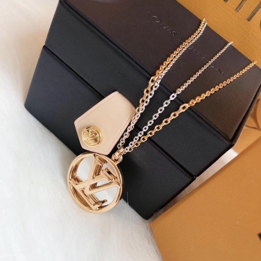 Designer Halskette für Frauen Locken Halskette Schmucksachen freies Verschiffen am besten, den neuen Angebot 2020 neue Art und Weise modernen Stils elegant 53JFCUSU