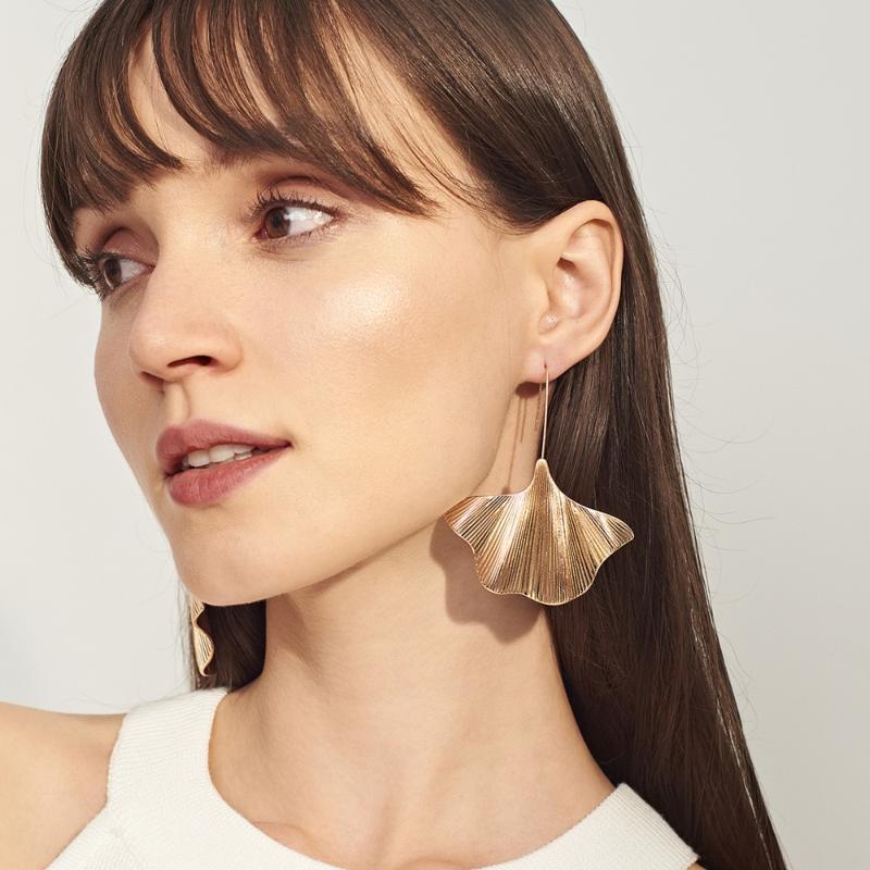Ingemark 빈티지 합금 매달려 귀걸이 한국어 공장 큰 드롭 술 귀걸이 여성 패션 쥬얼리 Brincos 2020