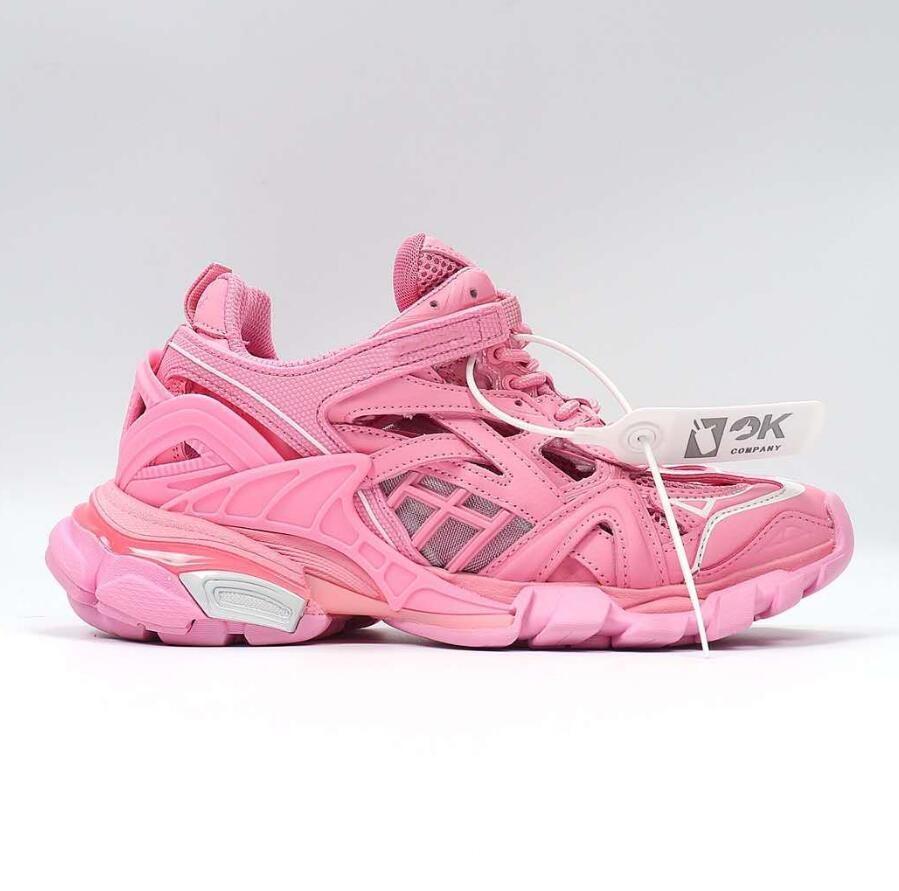 caixa Wth 2020 de alta qualidade Balanciaga Homens Mulheres Faixa 4.0 2.0 3.0 Sports Shoes Triple S Preto Vermelho Verde Trainers Tamanho 36-45 zPSI #