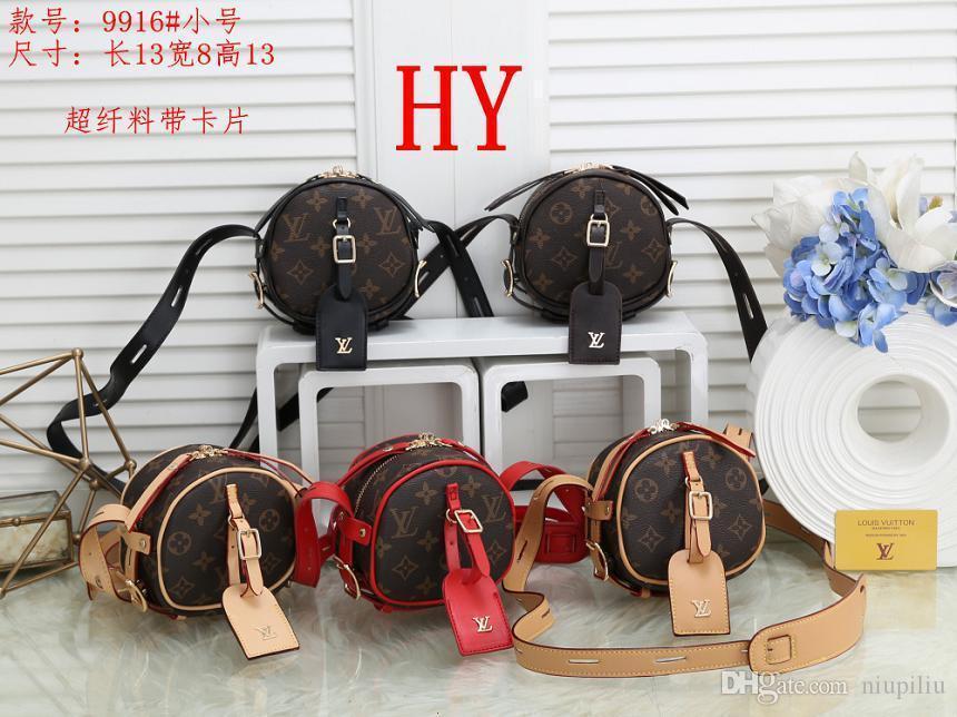 Vendita calda Classic Tote Bag con frizione dal design di lusso in pelle di spalla Portafogli da donna in PVC Messenger sacchetti di acquisto borsa con 060